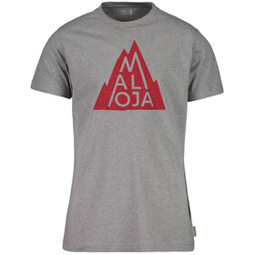 Maloja ChristianM. T-Shirt Heren, grey melange